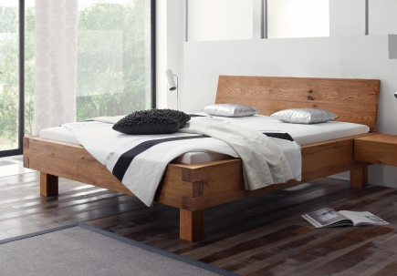 hasena oak line wild bett pilatus 140 x 200 220 200 x 200 220 cm gelbett direkt. Black Bedroom Furniture Sets. Home Design Ideas