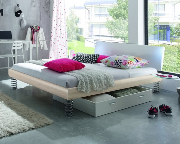 Hasena Soft-Line Bett Noble Lecco Jump
