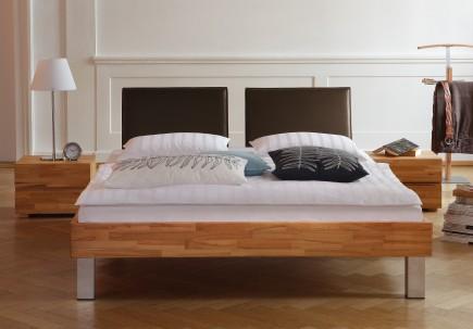 Full Size Gelbett Dual Wood-Lline Mico Kopfteil Palma