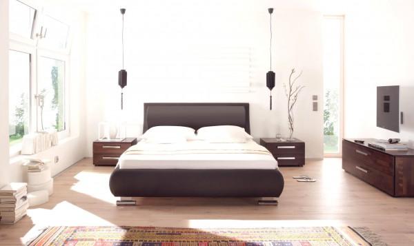 Wasserbett oder Gelbett komplett Dream Line Deluxe mit Odeon Kopfteil inkl. Tubo Füße