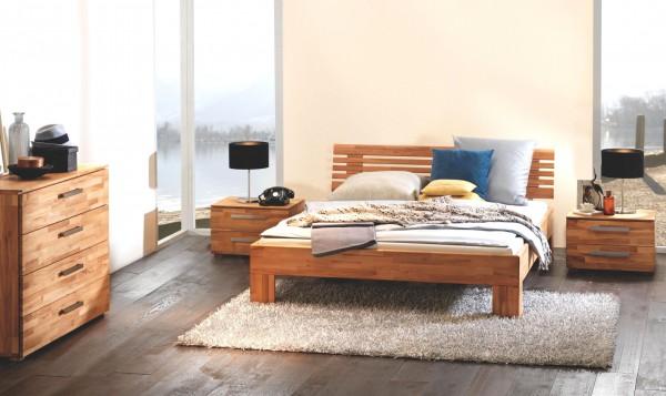 Full Size Gelbett Dual Wood Line Premium Massa Litto